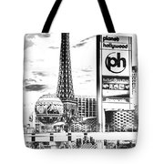 Etched Vegas Tote Bag