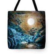 Eternal Buddha Meditation Tote Bag