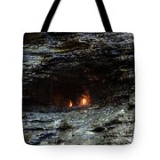 Eternal Flame Reflections Tote Bag