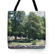 Eternal Waterfront Property Tote Bag
