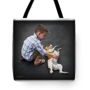Ethan And Miller Tote Bag