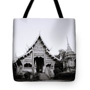 Ethereal Buddhism Tote Bag