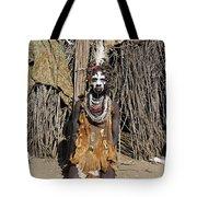 Ethiopia-south Tribesman No.2 Tote Bag