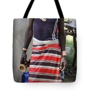 Ethiopia-south Tribesman No.3 Tote Bag