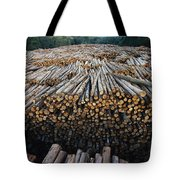 Eucalyptus Stacked Lumber Tote Bag