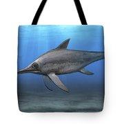 Eurhinosaurus Longirostris Swimming Tote Bag