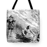 Europe: Witch Burning Tote Bag by Granger