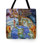Eve-olution Of Sin Tote Bag