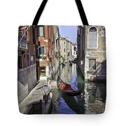 Even A Gondolier Has To Take A Break Tote Bag