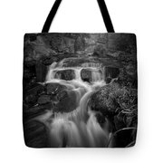 Even Flow 4.1 Bw Tote Bag