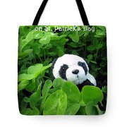 Even Pandas Are Irish On St. Patrick's Day Tote Bag