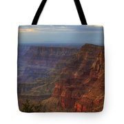Evening At Desert View Tote Bag