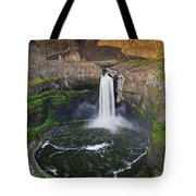 Evening At Palouse Falls Tote Bag