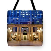 Evening Begins Tote Bag
