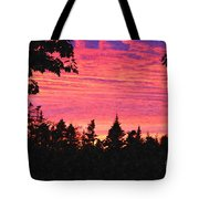 Evening In Paradise Painterly Style Tote Bag