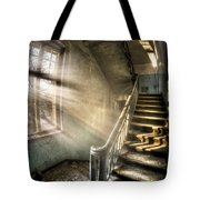 Evening Light Cooming In Tote Bag