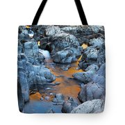 Evening Light On The Black River At Johnsons Shut Ins State Park IIi Tote Bag