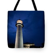 Evening Lighthouse Tote Bag
