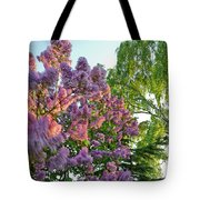 Evening Lilac Tote Bag