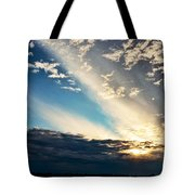 Evening Rays Tote Bag