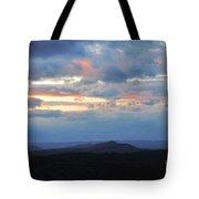 Evening Sky Over The Quabbin Tote Bag