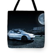 Evo 7 At Night Tote Bag