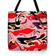 Evolve Abstract Painting Tote Bag