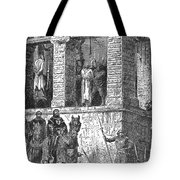 Execution Of Heretics Tote Bag
