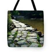 Exmoor National Park Crossing Bridge Tote Bag