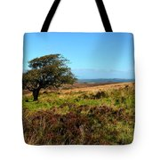 Exmoor's Heather-covered Hills Tote Bag