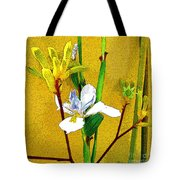 Exotic Flowers Tote Bag