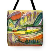 Exotic Places In My Mind Tote Bag