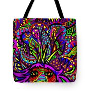 Exploding Head Tote Bag