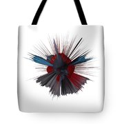Exploding Tick Tote Bag