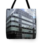 Express Papers Art Deco Buliding London Tote Bag