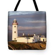 Exterior Of Fanad Lighthouse Fanad Tote Bag