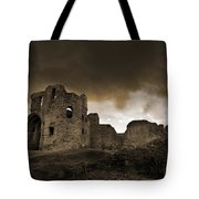 Exterior Of The Ruins Of Denhigh Castle Tote Bag