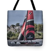 Extreme 40 Team Alinghi Tote Bag