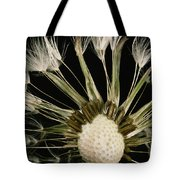 Extreme Close-up Of The Seedhead Tote Bag