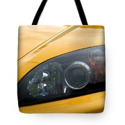 Eye Of A Car Tote Bag