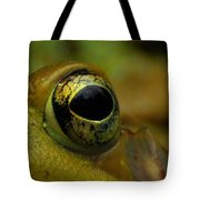Eye Of Frog Tote Bag