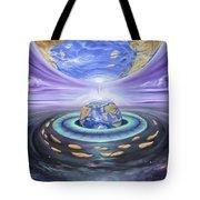 Eye Of God Tote Bag