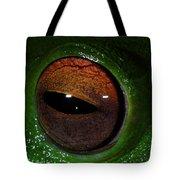 Eye Of The Frog Tote Bag