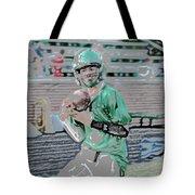 Eye On The Ball Digital Art Tote Bag