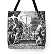 Eye Surgery, Historical Engraving Tote Bag