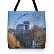Eyeing The View Tote Bag