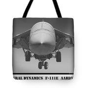 F-111e Aardvark Tote Bag