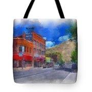 F And S Salida Watercolor Tote Bag