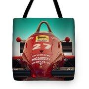 1985 Ferrari 156/85 F1 Nose Tote Bag