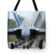 Fa-18a Hornets Assigned To The Blue Tote Bag